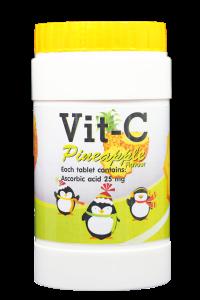 วิต ซี กลิ่นสับปะรด (ผลิตภัณฑ์เสริมอาหารวิตามินซี)